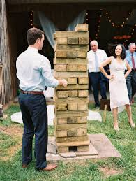 Naturally Chic Rustic Barn Wedding | Jenga Wedding Games, Jenga ... Top Best Backyard Party Decorations Ideas Pics Cool Outdoor The 25 Best Wedding Yard Games Ideas On Pinterest Unique Party Pnic Summer Weddings Incporate Bbq Favorites Into Your Giant Jenga Inspired Tower Large Unsanded Ready To Ship Cait Bobbys In Massachusetts Gina Brocker 15 Ways Make Reception More Fun Huffpost Bonfire Decorative Lanterns Backyard Wedding 10 Photos Cute Games Can Play In Home Weddceremonycom Inspiration Rustic Romantic Country