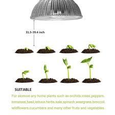 E27 12W Full Spectrum LED Plant Grow Lights Bulb 12 LEDs