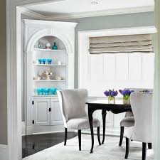 Corner Cupboard Use A Wedge Shaped Built In Colonial Era Favorite For Cramped Dining
