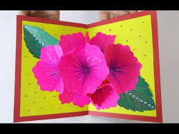 Pop Up Greeting Card Making Ideas