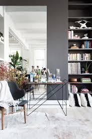 100 Loft Apartment Interior Design Stylish Mini Bar Cart Shady Indoor Garden