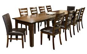 11 Piece Dining Set with Table and Chairs by Intercon