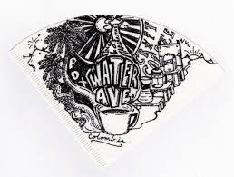 Coffee Filter Drawing From Ben Blake