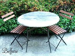 Modern Outdoor Cafe Table Bistro Furniture