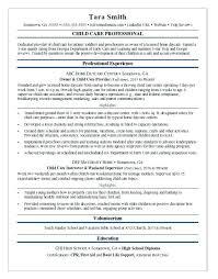 Child Care Resume Sample Daycare Job Application Template Childcare