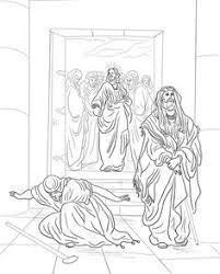 Pharisee And Tax Collector Coloring Page From Jesus Parables Category Select 22052 Printable