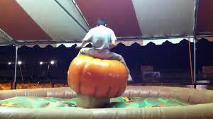 Del Oso Pumpkin Patch Lathrop Ca by Tanis On Bucking Pumpkin Youtube