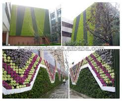 Out door Living Vertical Green Wall System planters Greenwall