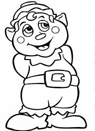 Free Printable Elf Coloring Pages For Kids Inside Christmas Elves