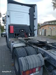 Semi-trailer Truck Mercedes-Benz Actros 1846 Full Retarder 2012 Y ...
