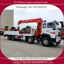 100 Truck Mounted Crane Quality Brand Pfg Sino Str 20tons