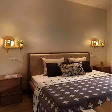 moderne holz led wand le kreative pastoralen nordic holz licht kinderzimmer schlafzimmer foyer regal le 1138