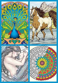 Gift Ideas Adult Coloring Books