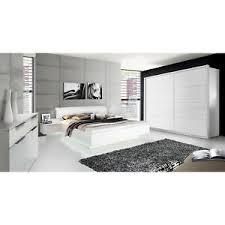 schlafzimmer weiß hochglanz günstig kaufen ebay