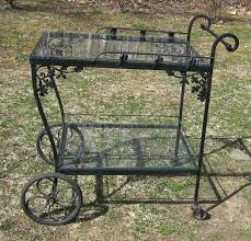 Vintage Wrought Iron Patio Furniture Woodard by Woodard Orleans Tea Cart Offered On Ebay For 499 00 Vintage