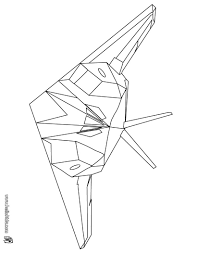 Frigate Fighter Coloring Page