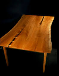 The Greybill Rustic Cherry Custom Hand Built Kitchen Table