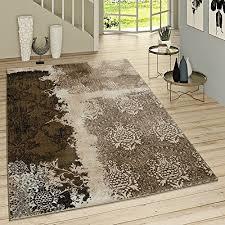 teppiche teppichböden wohnzimmer teppich braun beige
