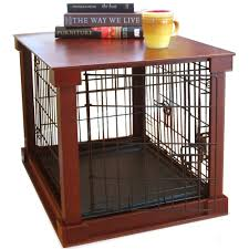 How To Build A End Table Dog Crate by Modern Dog Crate End Table Making An Auxiliary Dog Crate End