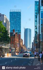 100 Square One Apartments The Beetham Tower And One Of The Deansgate Apartment Blocks