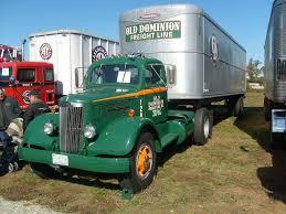 100 Old Semi Trucks 1950 White WC22 Dominion Heavyhauling White