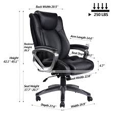 VANBOW Leather Memory Foam Office Chair - Adjustable Lumbar Support Knob  And Tilt Angle High Back Executive Computer Desk Chair Thick Padding For ... Wingback Office Chair Vintage Top Grian Real Leather Desk Alinium Chairs Cad Drawings Vanbow Memory Foam Adjustable Lumbar Support Knob And Tilt Angle High Back Executive Computer Thick Padding For China Italy Design Speaking Antique Table Hxg0435 Guide How To Buy A 10 Us 18240 5 Off18m Writing Desks Rosewood Living Room Fniture Tables Solid Wood Book Board Chinese Style On Fjllberget En Andinavisk Karaktr Ikea Home Office Retro Chair With Ceo Sign Isolated A White Background Give Those Old New Life 7 Steps Pictures Soft Padded Mid Light Brown