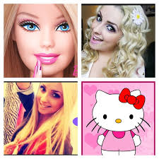 Piinksparkles Barbie Hello Kitty Sam Makeup Pinterest Barbie