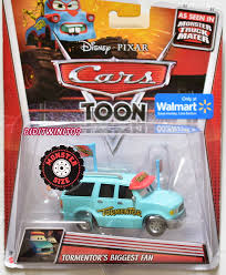 DISNEY PIXAR CARS TOON WALMART TORMENTOR'S BIGGEST FAN MONSTER TRUCK ...