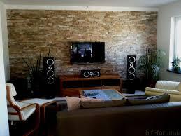 stein tapete wohnzimmer ideen wandgestaltung altbau mit