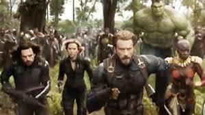 Team Cap Charges Ahead In Avengers Infinity War Battle Scene