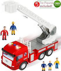 100 Toy Fire Truck Amazoncom FUNERICA With Lights And Sounds 4
