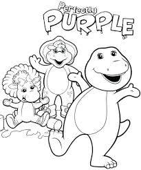 Barney Coloring Pages Free Printable Colouring Online Games Friends Elegant Gorgeous Intended Motivate Color Page