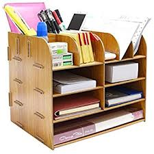 amazon com file storage box holder wood files supplies office