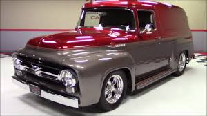 1956 Ford Panel Truck - YouTube