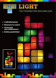 Tetris Stackable Led Desk Lamp Nz by 2018 Tetris Light Tetris Pieces Constructible Retro Game Style