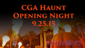 Californias Great America Halloween Haunt by Thrills By The Bay California U0027s Great America Haunt 2015 First