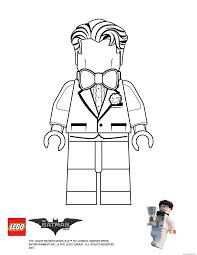 Bruce Lego Batman Movie Coloring Pages