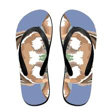 Abstract Background Wallpaper Unisex Lightweihgt Flip Flops Sport Sandals Casual Beach Slippers