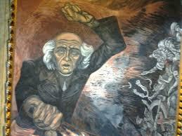 Jose Clemente Orozco Murales by Mural De Miguel Hidalgo Pintado Por José Clemente Orozco En El