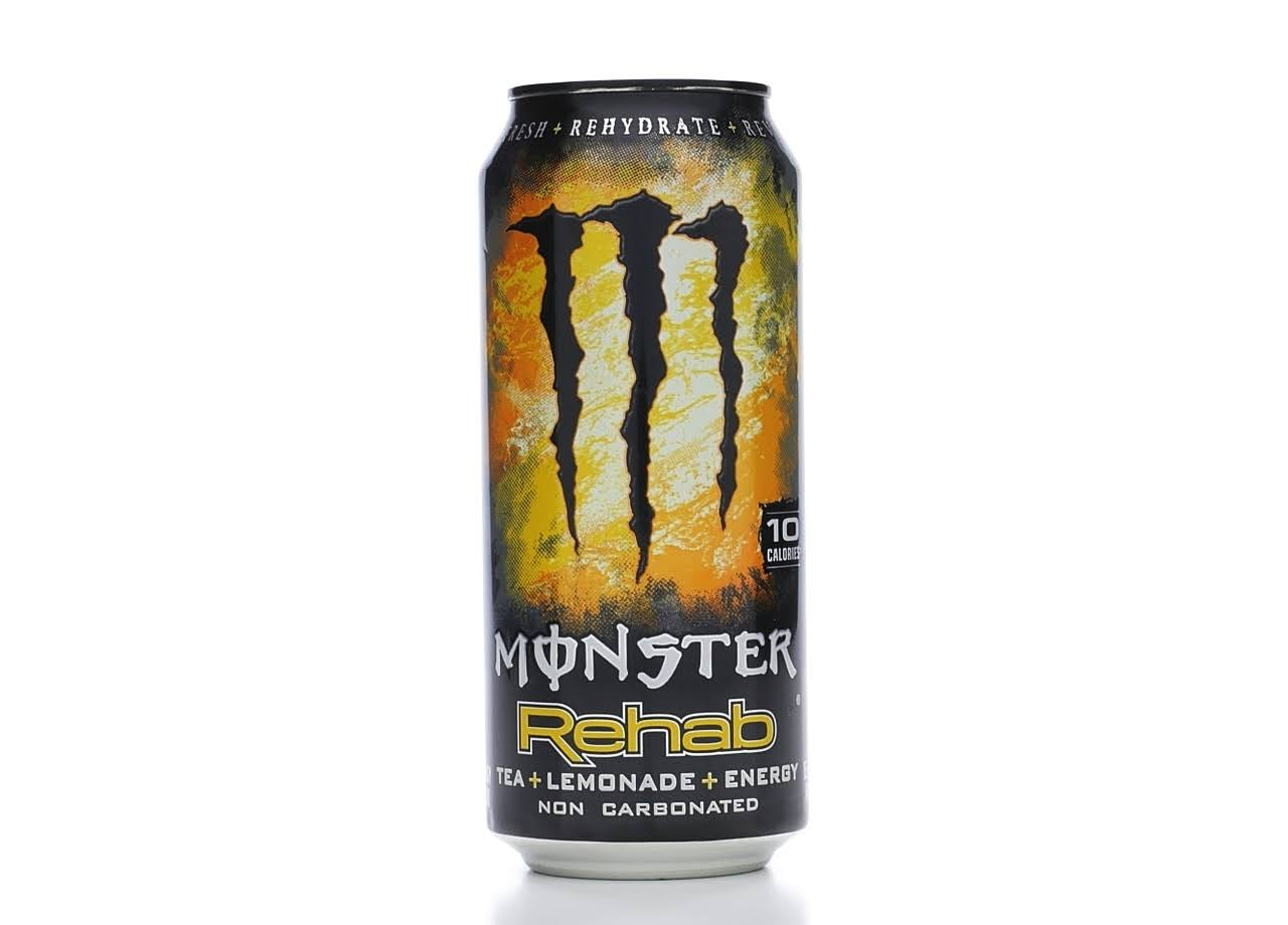 Monster Energy Drinks - Rehab, 15.5oz