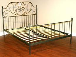 Antique Wrought Iron King Headboard by Wrought Iron Headboard King Queen Size Metal Bed Frame With Black