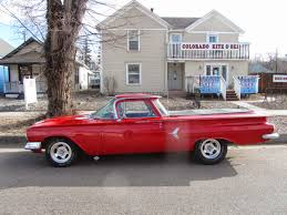 Autoliterate: 1960 El Camino, Colorado Springs