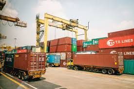 100 Lcl Truck Equipment The Logistics Flow Of Ocean Export By FCL And LCL How The Cargo