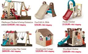 Step2 Playhouses Slides U0026 Climbers by Step2 Mother U0027s Day Weekend Deals 20 Off Toddle Tune Coupe U0026 New