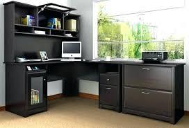 bureau dangle bureau angle design design corner master black glass office bureau