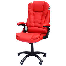 HomCom PU Leather High-Back Executive Ergonomic Heated Vibrating Massage  Office Chair - Red Dke Fair Mid Back Office Chair Manufacturer From Huzhou Fulham Hour High Back Ergonomic Mesh Office Chair Computor Chairs Facingwalls Adequate Interior Design Sprgerlink Proceed Mid Upholstered Fabric Black Modway Gaming Racing Pu Leather Unlimited Free Shipping Usd Ground Free Hcom Highback Executive Heated Vibrating Massage Modern Elegant Stacking Colorful Ingenious Homall Swivel Style Brown