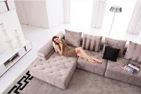 canapé d angle design tissu pas cher