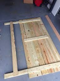 Headboard Designs For King Size Beds by Diy King Size Headboard Have Dad Help Me Build And Then Paint It