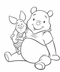 Winnie The Pooh Fabric Nursery by Winnie Pooh Piglet Coloring Page Coloring Pages Pinterest