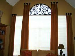 Arched Or Curved Window Curtain Rod Canada by Arched Window Cover U2013 Idearama Co
